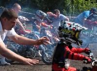Юные мотоциклисты соревновались в мотокроссе в Новомосковске, Фото: 14