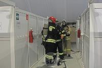В Туле сотрудники МЧС эвакуировали госпитали госпиталь для больных коронавирусом, Фото: 32