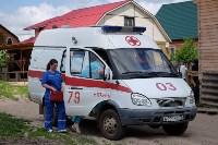В Плеханово начали сносить дома в цыганском таборе, Фото: 137
