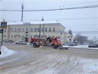 Расчистка тульских улиц коммунальными службами, Фото: 11
