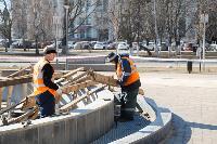 В Туле фонтаны готовят к открытию, Фото: 8