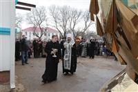 Освящение креста купола Свято-Казанского храма, Фото: 11