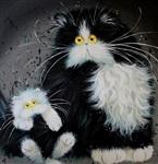Рисованные котики, Фото: 4