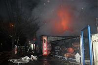 На ул. Оборонной в Туле сгорел магазин., Фото: 2