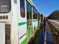 Авария на трассе Тула-Щекино, 10 февраля 2020, Фото: 8