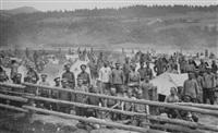 Русские военнопленные в лагере Иннихен., Фото: 20