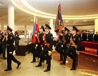 В Туле прошла церемония крепления к древку полотнища знамени регионального УМВД, Фото: 19