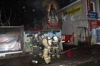 На ул. Оборонной в Туле сгорел магазин., Фото: 16