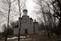 Митрополит Алексий освятил колокола храма в поселке Рождественский, Фото: 1
