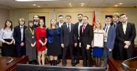 Губернатор Тульской области Владимир Груздев встретился с командой КВН «Сборная Тульской области», Фото: 1