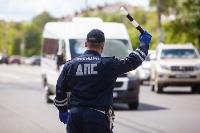 Полицейский рейд в тульских маршрутках: на пассажиров без масок составляют протоколы, Фото: 21