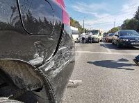 В Туле столкнулись броневик и внедорожник Lexus, Фото: 3