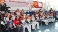 Первый этап эстафеты олимпийского огня: Пролетарский район, Фото: 34