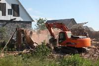 Демонтаж незаконных цыганских домов в Плеханово и Хрущево, Фото: 51