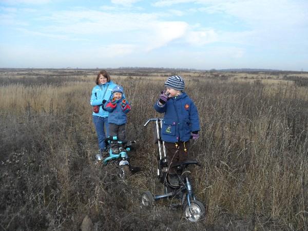 Вот и наш тест-драйв по Тульским полям) Тула, любимая Тула! То ли мы тестируем велосипеды, то ли дорога нас!