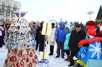Арт-объекты на площади Ленина, 5.01.2015, Фото: 6