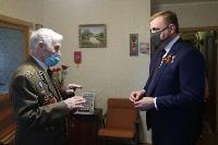 Алексей Дюмин поздравил ветеранов, Фото: 1