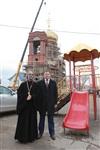 Освящение креста купола Свято-Казанского храма, Фото: 30