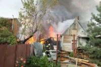На улице Патронной загорелся частный дом, Фото: 15