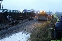 Крушение поезда в Тульской области, Фото: 11
