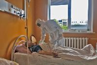 Репортаж из «красной зоны»: как устроен коронавирусный госпиталь в Туле, Фото: 1