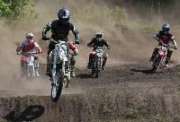 Юные мотоциклисты соревновались в мотокроссе в Новомосковске, Фото: 44