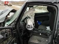 В страшном ДТП под Тулой погибли два человека, Фото: 9