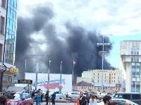 Загорелся недостроенный ТЦ на Красноармейском проспекте, Фото: 4