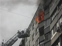 Курильщик поджег балкон своих соседей, Фото: 1