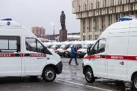 Алексей Дюмин передал региональному Центру медицины катастроф 39 новых автомобилей, Фото: 19