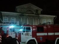 """Пожар в здании бывшего кинотеатра """"Комсомольский"""", Фото: 1"""