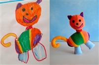Игрушки, сшитые по рисункам детей, Фото: 3