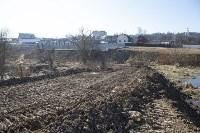 Туляк засыпал ручей, 12 колодцев и 4 канализационных люка, самовольно строя дорогу, Фото: 8