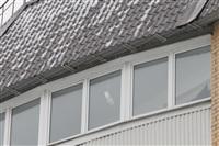 Нечищеная крыша дома №116 по пр-ту Ленина, Фото: 2