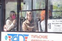 Полицейский рейд в тульских маршрутках: на пассажиров без масок составляют протоколы, Фото: 40