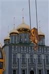 Утром 15 ноября в Тулу привезли шпиль для колокольни Успенского собора, Фото: 1