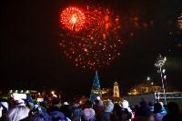 Главную ёлку Тулы открыли грандиозным фейерверком, Фото: 26