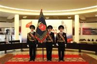 В Туле прошла церемония крепления к древку полотнища знамени регионального УМВД, Фото: 3