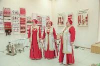 """В Ленинском открылась выставка """"Традиционное тульское ткачество"""", Фото: 3"""