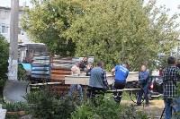 «Экопатруль» благоустроил в Киреевске двор, Фото: 3