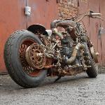 Тульский умелец создал стимпанк-мотоцикл «СССР», Фото: 1