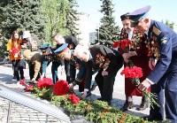 Возложение цветов к Вечному огню на площади Победы. 9 мая 2016 года, Фото: 2