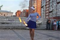 Огненное шоу Дарьи Бегдаш, Фото: 3