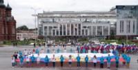 Велопробег в цветах российского флага, Фото: 19