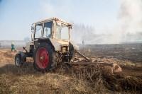 В Белевском районе провели учения по тушению лесных пожаров, Фото: 4