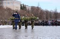 Церемония возложения цветов на площади Победы, 23.02.2016, Фото: 27