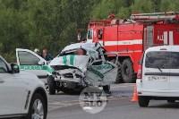 В ДТП под Тулой погибли три сотрудника УФСИН, Фото: 18