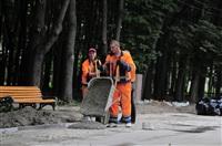 В парке им. П.П. Белоусова все работы будут завершены к следующему Дню города.  , Фото: 11