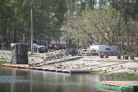 Реконструкция боевых действий. Центральный парк. 9 мая 2015 года, Фото: 36