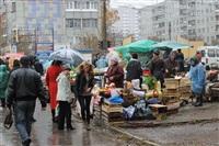 Стихийный рынок на ул. Пузакова, Фото: 10